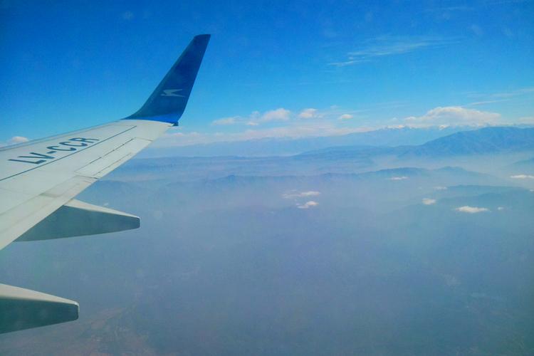 Laatste blik op de Andes