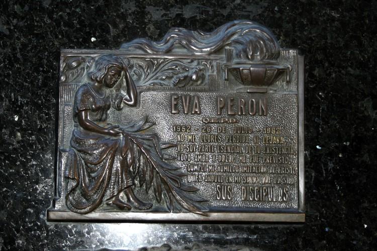 Plaquette Evita Péron