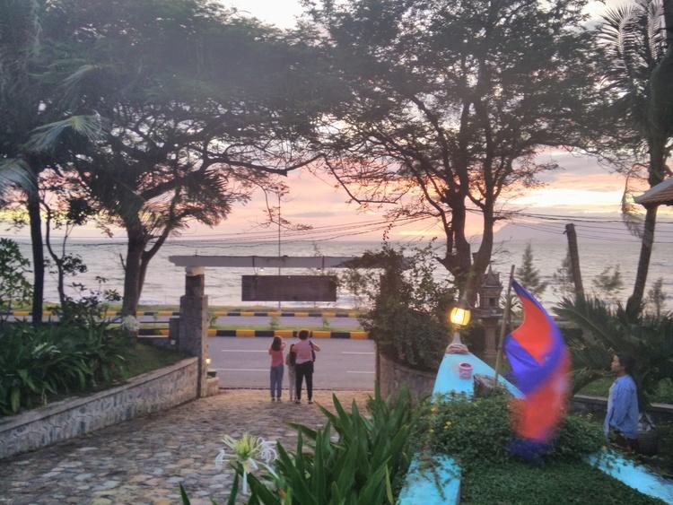 Uitzicht op de Golf van Thailand