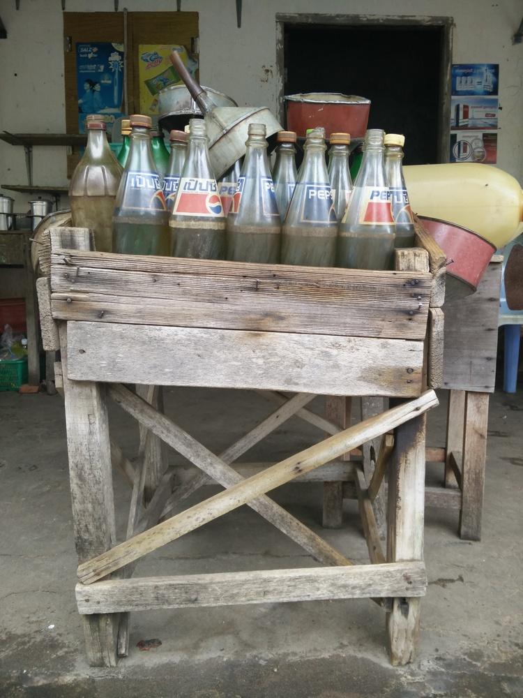 Benzinestation in Kep