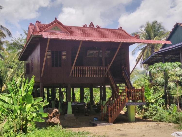 Typisch Cambodjaans huis