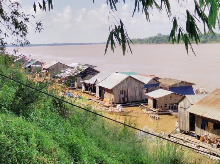Vietnames drijvend dorp