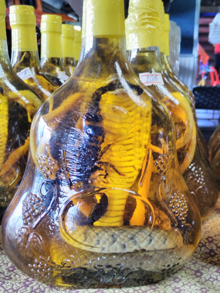 Typische Cambodiaanse souvenirs