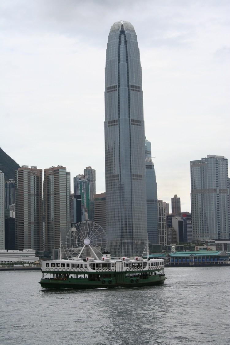 Hong Kong Eiland vanaf de veerpont