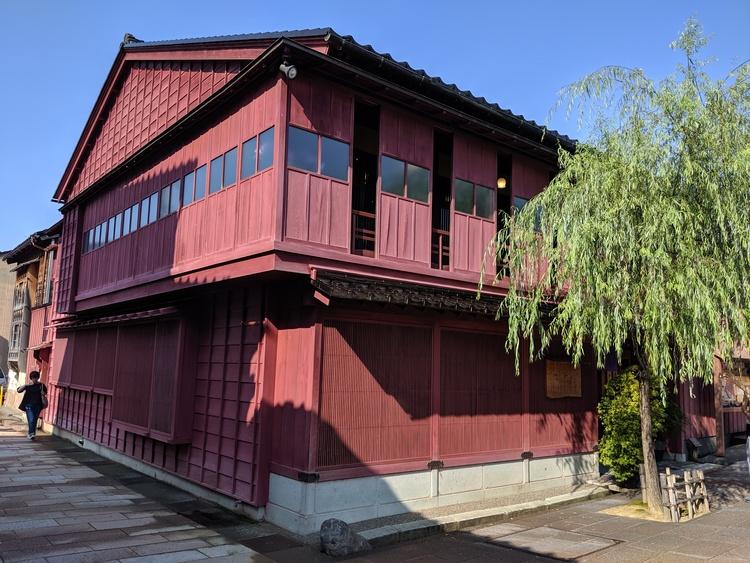 Theehuis in Higashi Chaya