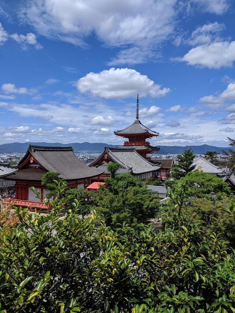 Pagode bij Kiyomizu-dera