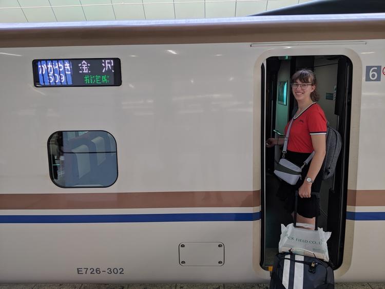 Shinkansen - kogeltrein