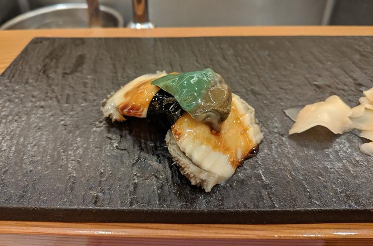 Sushi met Abalone