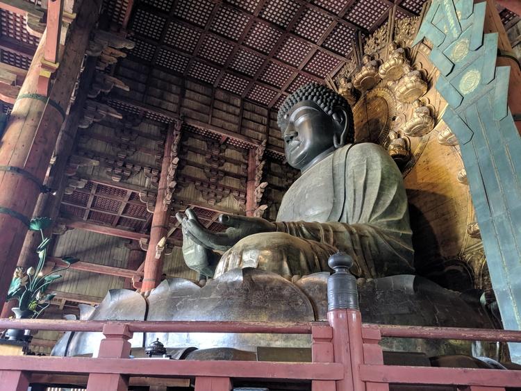 Todaiji Boeddha