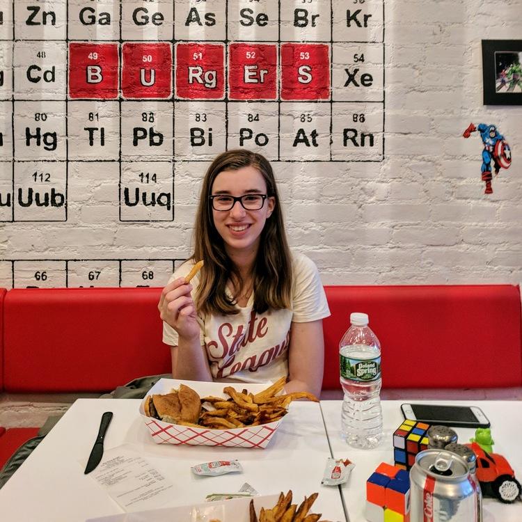 Diner bij Big Bang Burgers