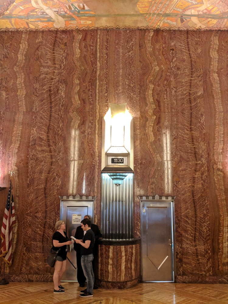 Lobby of the Chrysler Building