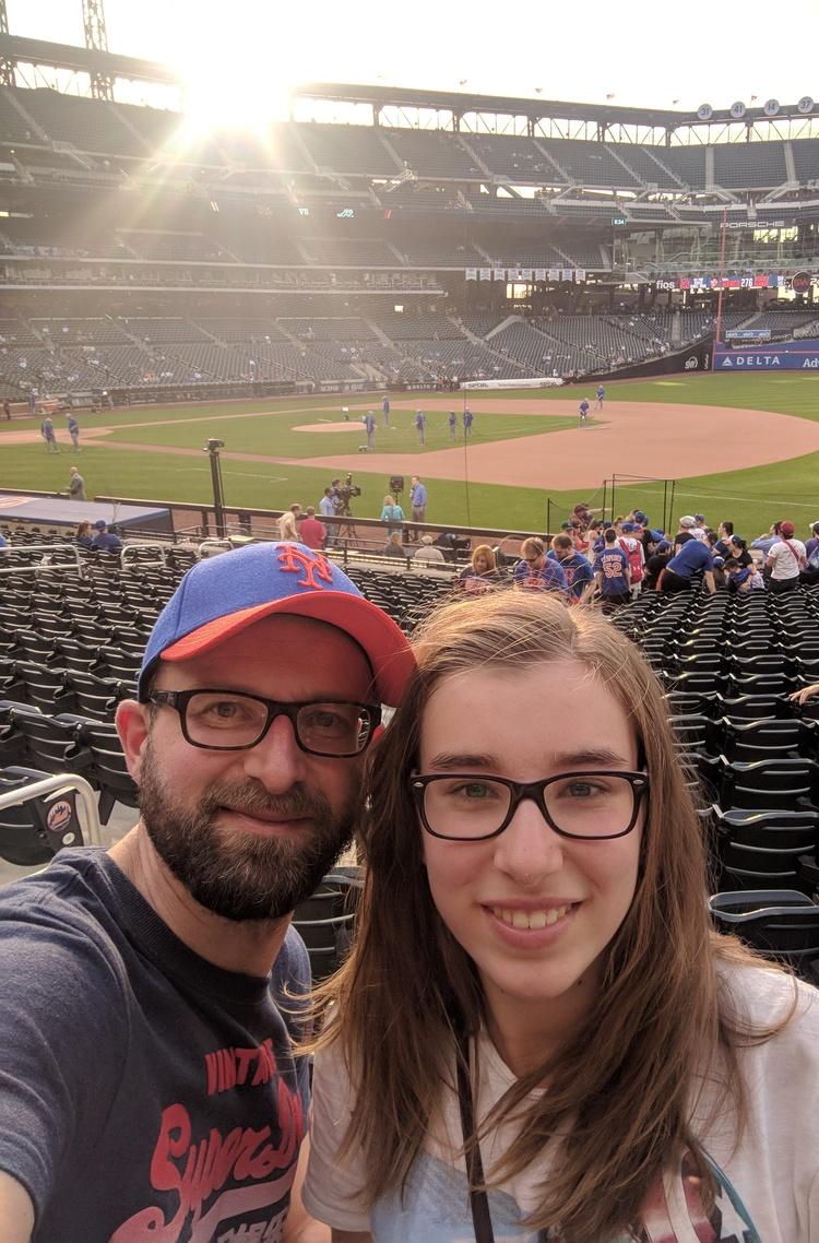 Citi Field Selfie