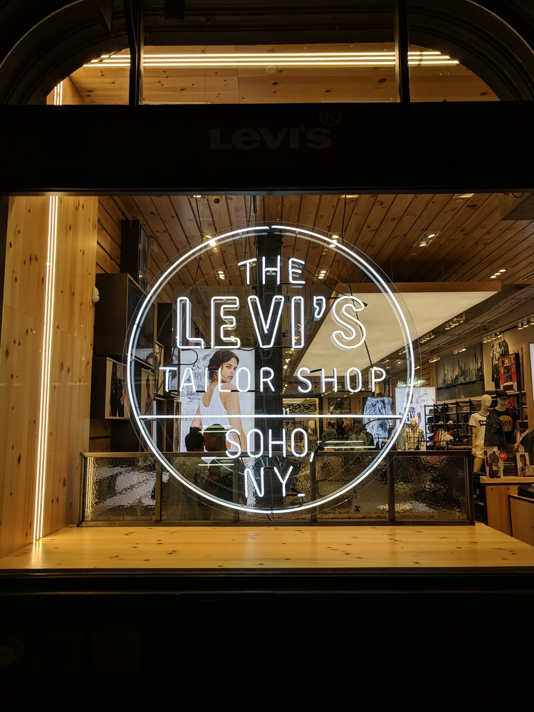 Levi's Tailor Shop SoHo