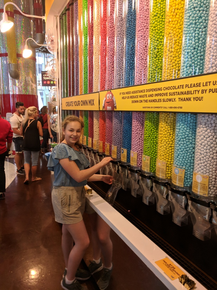 The Wall in M&M World