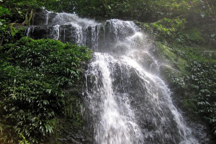 Cliché plaatje van de Irene waterval