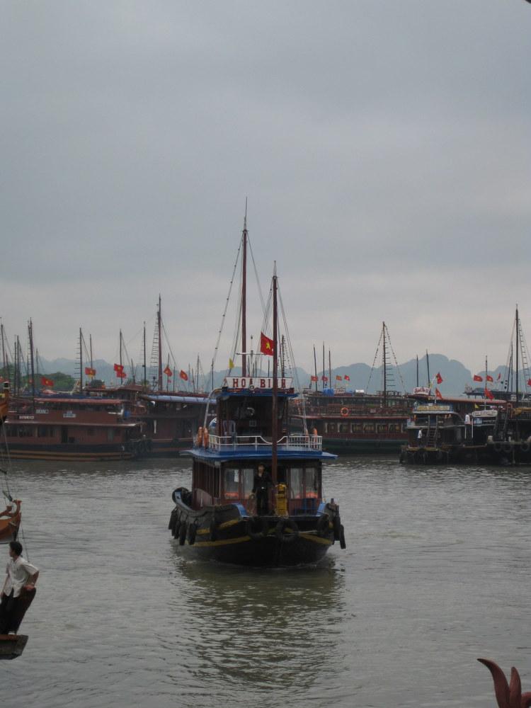 Halong City Harbor