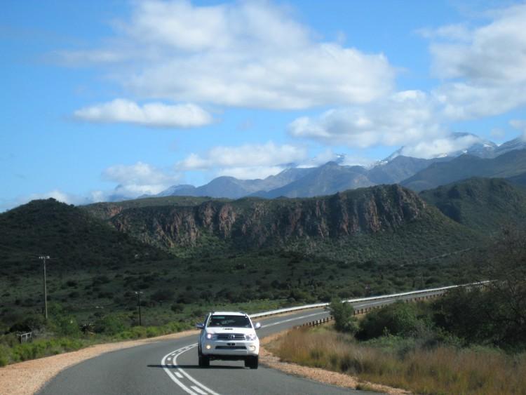 Route 62 door de Kleine Karoo