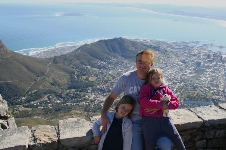 Uitzicht op Kaapstad
